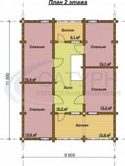 Проект Степ - План 2 этажа